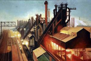 Oljemålningen Allegheny-Ludlum Steel Mill från 1948 av Raymond Simboli finns på    Carnegie Museum of Art i Pittsburgh.