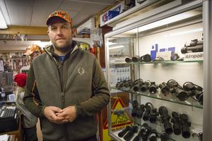 Butiksägare Tomas Bylund säger att uppladdningshelgen blivit en tradition.