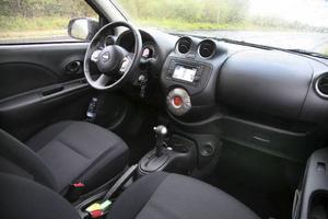 Mera plats och lite mindre plast kännetecknar insidan av nya Nissan Micra.