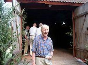 Foto: JÖRGEN LARSSONPuttes avsked. Putte Bergström såg till att det blev logdans på Djupdals loge än en gång. Senast var för 40 år sedan.