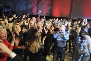 Full fart i Härnösand arena blir det den 24 och 25 maj när den stora dansbandsfesten arrangeras. Fotograf: Matilda Ermeland