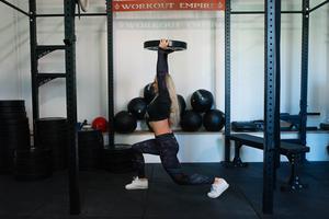 Anna tränar ungefär 5-6 gånger i veckan.