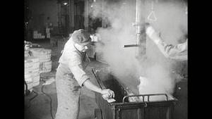 Ren-såpafabriken i Sandarne.