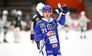 Emil Viklund avgjorde för Vänersborg hemma mot Västerås SK i kväll.