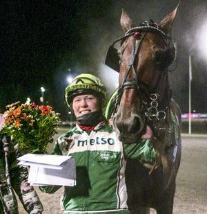 Jennie H Åsberg tillsammans med Västerbo Pumpkin segrade i finalen av montéserien.
