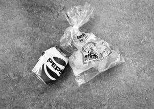 En läskburk och en muffinspåse hittades i en soptunna utanför en sommarstuga och de kom under en tid att bli intressanta i utredningen.