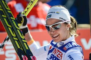 Anna Haag gjorde säsongens bästa lopp och blev sexa i damernas 30 km vid skid VM i Val di Fiemme, Italien.