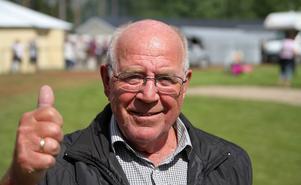 Ordförande Gunnar Högberg var nöjd med hur väl dragkampen föll hos publiken och tror att det kommer att bli en återkommande tradition på marknaden.