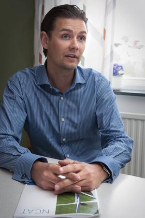 Lars Mattila, vd i Vindmark.
