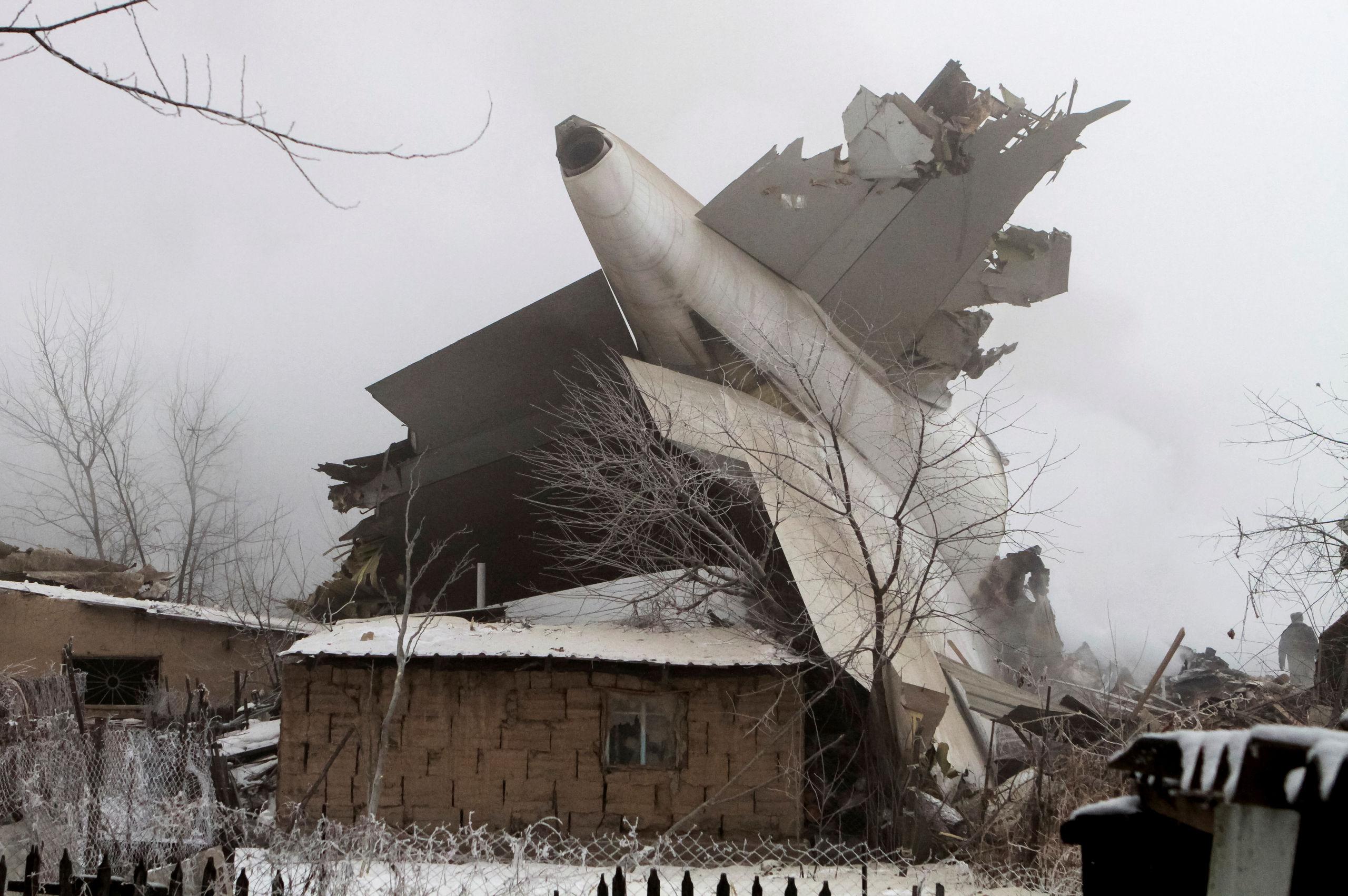Flygplan kraschade i norrtalje