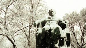 Johann Wolfgang von Goethe, den tyske nationalskalden, här avbildad i Wien.