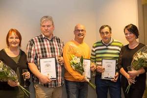Finalisterna uppmärksammades med diplom och blommor på Företagarna i Hofors årsmöte. I maj blir en av dem utsedd till årets företagare i Hofors.