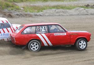 Peter Schylberg, HAK, såg extremt snabb ut med sin vassa Opel och vill naturligtvis var med i toppen