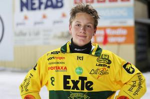 Isak Flodberg fick kliva in och köra på topp när Ljusdal kryssade borta mot Kungälv.