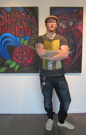 Mattias Gunnarsson-Embertsén. Personligt ledord till sina verk: Illusion.