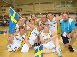 I söndagens final vann Sverige över Österrike med 27-12.