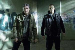 Liam Neeson och Joel Kinnaman spelar problemtyngd fader-son-duo i actionthrillern