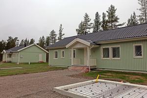Elevbostäderna i Sveg, småjobb görs fortfarande då de saknar hyresgäster.