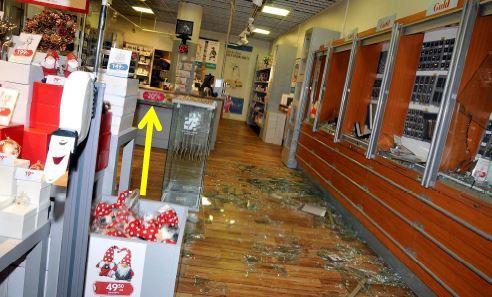 Butiksbitraden laste in nioaringar efter misstankt snatteri