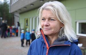 – Jag är så stolt över mina duktiga pedagoger, säger Annelie Zandén, förskolechef på Slättaskogen.