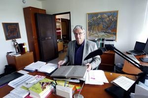 Landstingsdirektör Anders L Johansson avgick inte frivilligt. Han fick sparken.