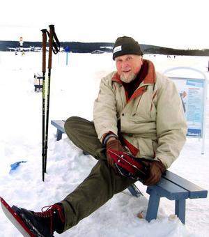"""Grill på """"grillor""""!  Henrik Grill var den som kom med idén att ordna skridskobanor på Storsjön."""