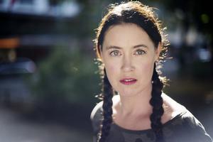Författaren Linda Boström Knausgård.