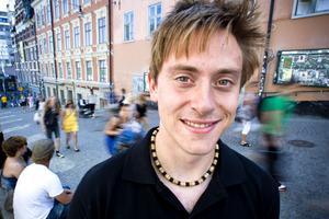 Anders Nordlén kommer från Bergvik och har precis avslutat sina studier i Sundsvall.