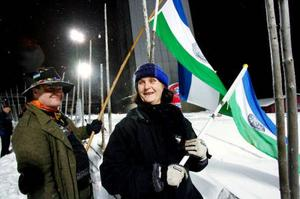 Annea Johansson, till höger, och