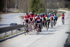 Cykla i grupp kräver disciplin av alla deltagare. I Tour of Ångermanland finns det många härliga cykelturer att välja mellan.