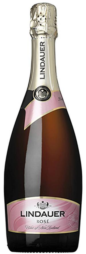 Lindauer Rosé NV      Artikelnummer: 77056 (BS)      Från: Nya Zeeland   Pris: 99 kr (75 cl)   Tydlig brödighet och mineralitet i smaken, torrt vin som är gjort av pinot noire och chardonnay druvor. Fin fruktighet, mognad och välbalanserat, passande att korka upp en kväll när skaldjur står på menyn.