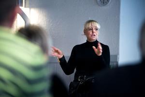 Berit Christoffersson talade om vikten för turismnäringen att hitta sin specifika målgrupp och att inte vara för spretig.