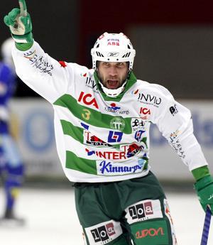Ted Andersson, VSK Bandy. FOTO: PER G NORÉN