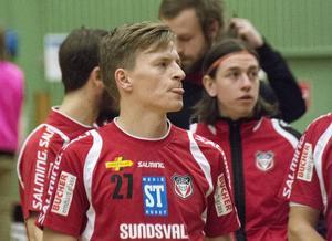 Ondrej Mikes gjorde två mål för Granlo i förlustmatchen mot Växjö.