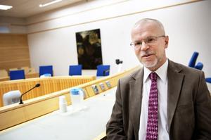 Lars-Erik Bergström, lagman vid Falu tingsrätt, kan inte se något alternativ till systemet med nämndemän och anser dessutom att det fungerar bra.