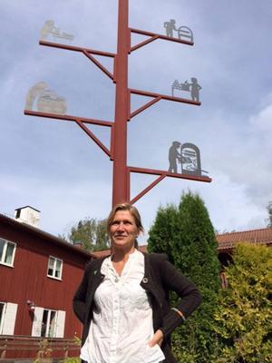 Anna Hildebrand (MP) är kandidat till regionfullmäktige och gruppledare för Miljöpartiet i landstingsfullmäktige i Jämtlands län.