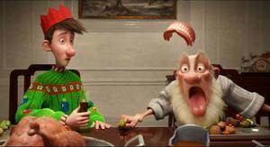 Arthur och gammeltomten ger sig ut på en kamp mot klockan för att leverera en julklapp som glömts bort.