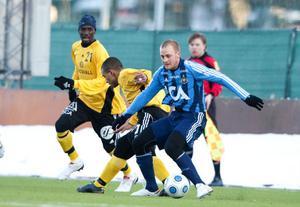 Djurgårdens spelmotor Daniel Sjölund stod för ett vackert chipmål när han kvitterade till 1–1.