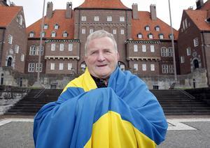 Per Söderberg är Mr Nationaldag i Östersund.