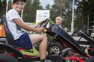 Mån Nilsson och Leon Lindvall satsade på helt andra bilar.