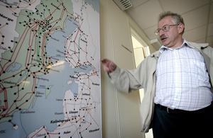 Drömmen. Ryssland har ett åldrande kraftnät och drömmen för Stri och isolationsspecialisten Igor Gutman är att få vara med och designa ett nät för 2030-talet.
