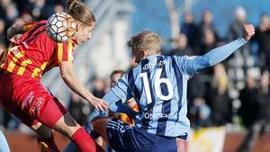 Felix Michel mot Djurgården.