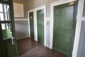 Toaletterna på stationshuset i Hudiksvall har under lång tid varit utsatta för skadgörelse.