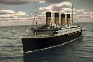 Nu görs två olika kopior av Titanic.