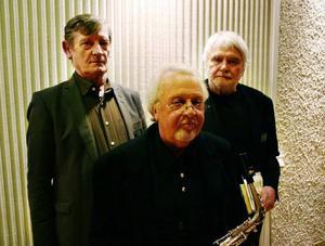 Esbjörn Ogevall, Lasse Hörnfeldt och Erik Rääf bjöd på finstämt program om Nils Ferlin, där Hörnfeldts saxutflykter gör vår skribent särskilt glad. Men publiken uteblev.