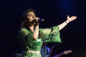 Den kurdiska sångerskan Sidar.