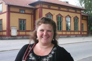Bergsjögården klarar inte att vara det kulturella och sociala navet om man inte får ekonomisk stöttning från kommunen. Marika Engberg motiverar ansökan.