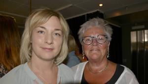 Marie Nilsson, filmcehf Film i Västernorrland och Ingrid Bergman, filmkonsulent produktion Film i Västernorrland.