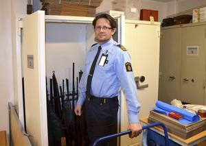 Nicke Gärdin, poliskommissarie i Sundsvall.