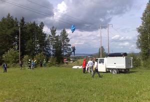 Misslyckades med landningen.